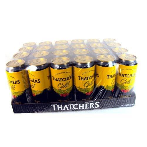 Thatchers Gold Medium Dry Somerset Cider 24x 500ml