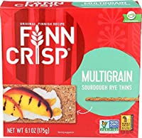 Finn Crisp Crispbread Multigrain 6.2-Ounce (Pack of 9) [並行輸入品]