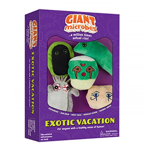 GIANTmicrobes Themed Gift Boxes - Exotic Vacation