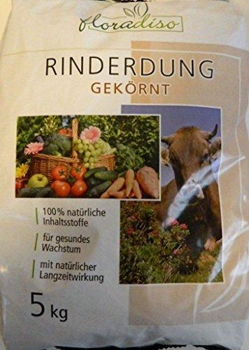 Hack Rinderdung 5kg Naturdünger Rindermist Gartendünger