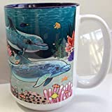 Dolphin Coffee Mug - 15 oz