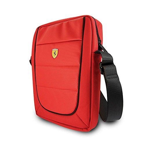 Ferrari FESH10RE Scuderia - Funda para tablet (25,4 cm 10 ), color negro y rojo