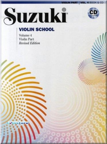 Suzuki Violin School 4 - Viool Noten [muziek]