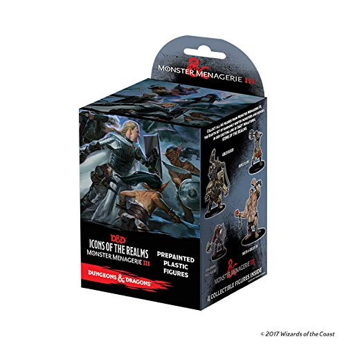 Wizkids Games Dungeons & Dragons: Icons of The Realms: Monster Menagerie 3 Booster Pack