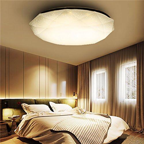 LTEFTLFL Max 54% OFF 12W White Warm Diamond Mount LED Popular standard Ceiling Fi Light