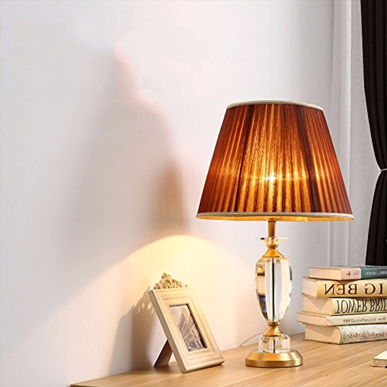 Dimmen crystal Kupfer Lampe, Schlafzimmer Nachttischlampe, Kupfer Kupfer Kupfer Lampe einfache Fernbedienung, Big A Druckschalter B078BXMV2S   Fairer Preis  1d2fc6