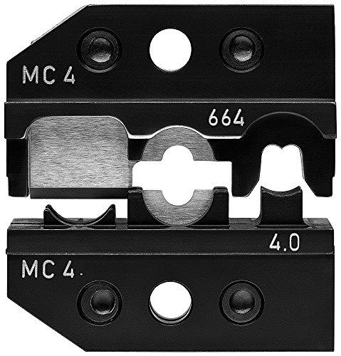 KNIPEX 97 49 66 4 Crimpeinsatz für Solar-Steckverbinder MC4 (Multi-Contact) schneiden - abisolieren - crimpen