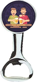 Beer Buddies Hand Held Magnetic Bottle Opener For Any Age Man, Custom Designed