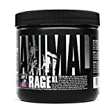 Animal Rage XL - Pre Workout Ultimate Energy and Performance Stack, Grape of Wrath, 30 (AM26)