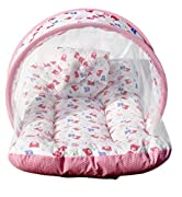 Allows fresh air to breeze in while blocks out insects and mosquitoes Supported by strong plastic wire frame Ideal for newborns till 3 months