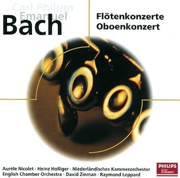 C.P.E. Bach: Flötenkonzerte - Oboenkonzerte