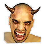 Ghoulish Productions Buum Horns Latex Appliance Adult Scary Halloween Devil Prosthetic Kit Make-up