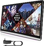 Android 9.0 Car Tablet Reposacabezas Video Player, 1920X1080 Pantalla Táctil, Soporta WiFi/Miracast & Airplay/Bluetooth/HDMI Input&Output/FM/Netflix Youtube