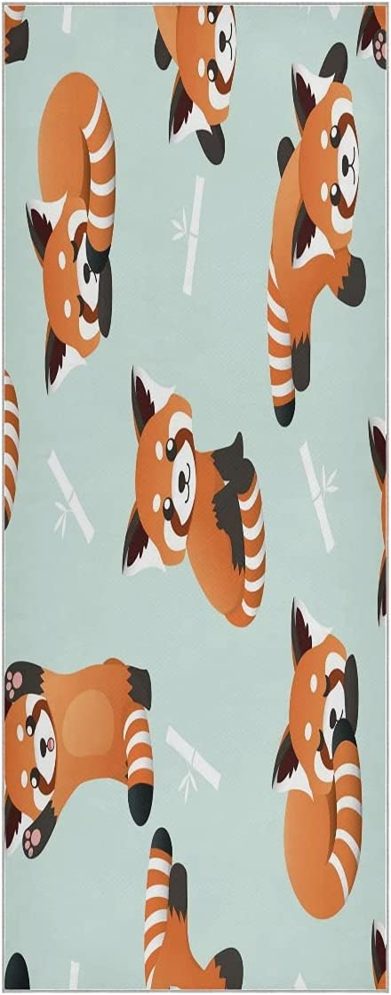 Cute Funny Fox Max 43% OFF Yoga Towel Mat Max 76% OFF Non Slip Soft Sweat Super Odorless