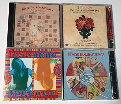 Jewish Shabbat and Holiday Gift Basket - CD Pack