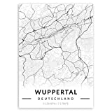 Murrano Metal Poster Metallbild Metallposter - Städte -