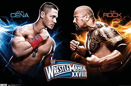 Trends International WWE Wrestlemania Xxviii Wall Poster 22.375' x 34'