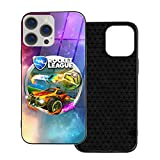 Rocket League Game iPhone 12 Case TPU Glass Cute Phone Protection Cover Compatible with iPhone 11 Pro/12pro Max for Women Men