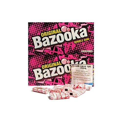 Original Bazooka Bubble Gum Party Box Individually Wrapped...