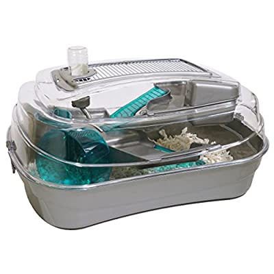 Rosewood Abode Dwarf Hamster and Mouse Home, Silver by Rosewood
