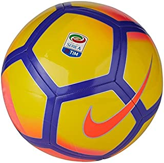 NIKE Serie A Pitch Football - Yellow/Pink