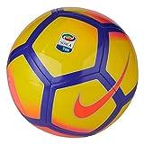 Nike Serie A Pitch - Balón de fútbol, Color Amarillo y Rosa