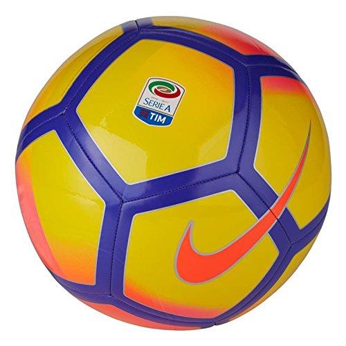 Nike Serie A Pitch Football – Giallo/Rosa