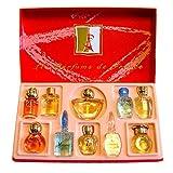 Charrier Parfums - 'Les Parfums de Francia' 10 Perfumes Gift Set 1.63 fl.oz