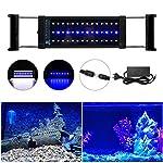 DOCEAN-LED-Aquarium-Beleuchtung-SMD-5050-Aquarium-LED-Lampe-mit-Mondlicht-Aquarien-Leuchte-LED-Licht-fr-Swasser-Aquarien-Einstellbare-Lnge-fr-Fisch-Tank