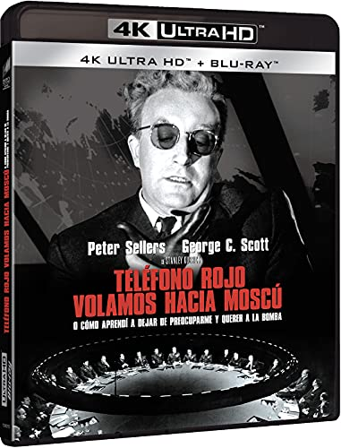 ¿Teléfono rojo? Volamos hacia Moscú (4k UHD + Blu-ray) [Blu-ray]