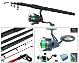 Best Surf Casting Reels - Sea Fishing Kit With 10' Telescopic Pier Surf Review