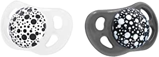 Twistshake Pacifier, Black/White, 2ct