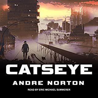Catseye audiobook cover art