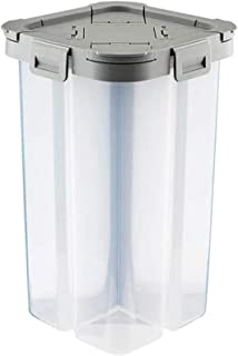 Conteneur de grain Céréales en plastique Distributeur Boîte de rangement cuisine alimentaire grains de riz Conteneurs Cans...