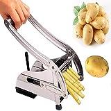 Patatine fritte patatine fritte in acciaio inox, macchina per spuntini, argento, medio