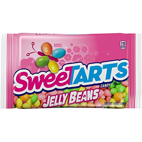 SweeTARTS Jelly Beans Easter Candy 14 Oz,...