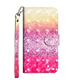LG K41s Case, 3D Painted Shockproof Premium PU Leather