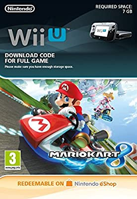 Mario Kart 8 [Wii U Download Code]