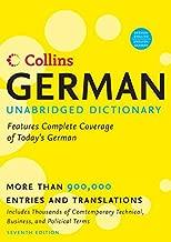 Collins German Unabridged Dictionary, 7th Edition (Harpercollins Unabridged Dictionaries)