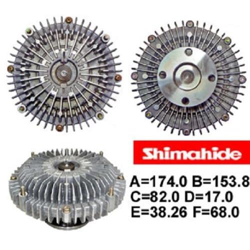2008 TOYOTA TUNDRA 4.7 ENGINE RADIATOR FAN CLUTCH OEM 05 06 07 08 09
