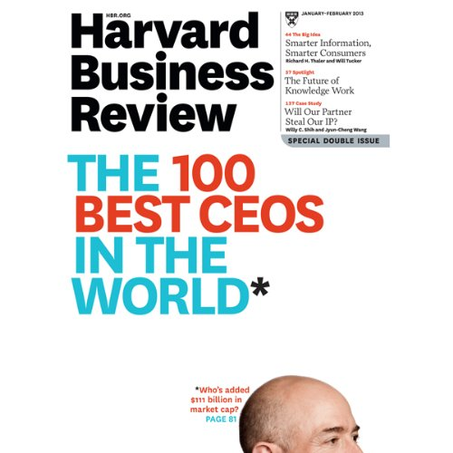 Harvard Business Review, January 2013 cover art