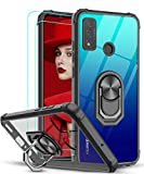 LeYiforHuawei P Smart 2020 Case and 2 Tempered Glass