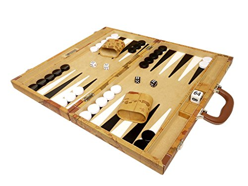 Middleton Games 18: A Luxurious Wood Backgammon Set