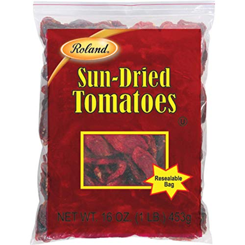 Roland Foods Sun-Dried Tomato Halves, Specialty Imported Food, 1-Pound Bag