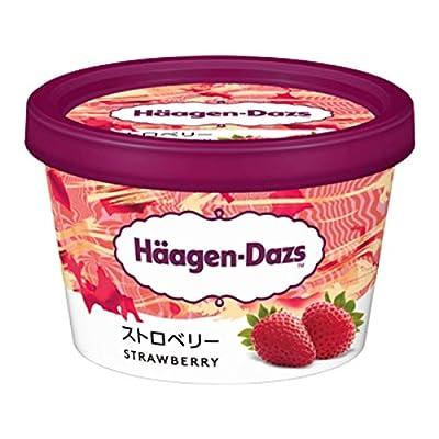 【ハーゲンダッツアイスクリーム】 ミニカップ ストロベリー 6個