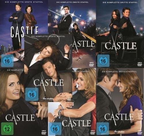 Castle - Staffel 1-7 (39 DVDs)