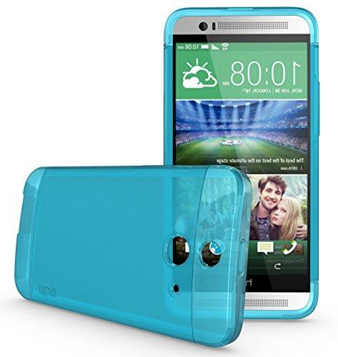 TUDIA LITE TPU Bumper Protective Case for HTC One (E8) (Teal)