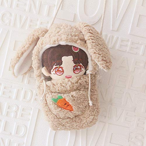 wqmdeshop Plush Toys Anime Plush Doll Bag Hold For 20Cm Doll Cartoon Backpack Rabbit Out Shoulder Messenger Bag