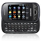 Samsung B3410 Handy (QWERTZ-Tastatur, Social-Networking-Dienste, 2MP Kamera) black
