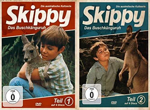 Skippy - Das Buschkänguruh - 1 und 2 Teil - 8 DVD - 2 Boxen